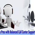 cal center support outsourcing